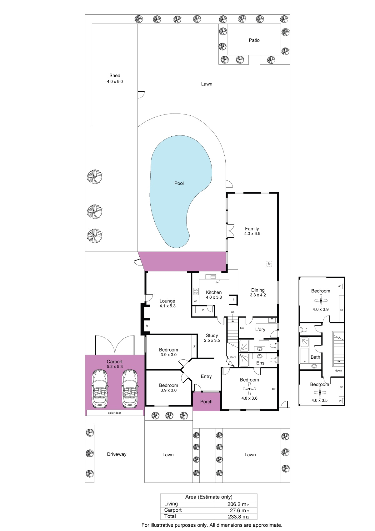1 Seymour Grove, Brighton - Floorplan