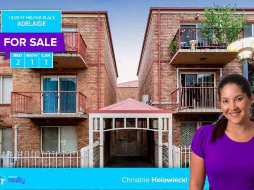 13/29 St Helena Place, Adelaide SA 5000