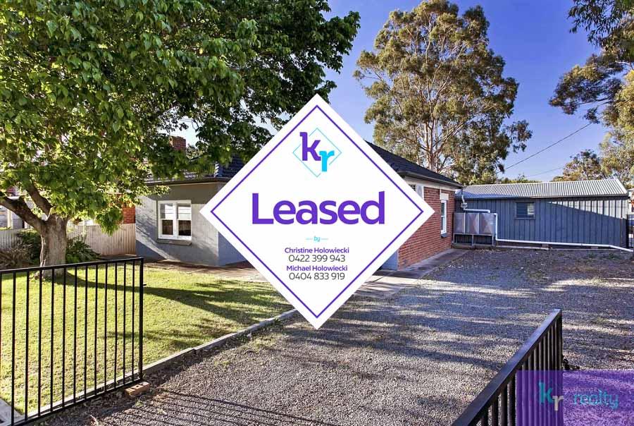 Real Estate For Rent 142 Crozier Avenue Melrose Park Sa