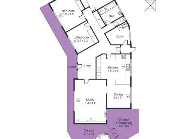 175 Gloucester Avenue, Belair - Floorplan