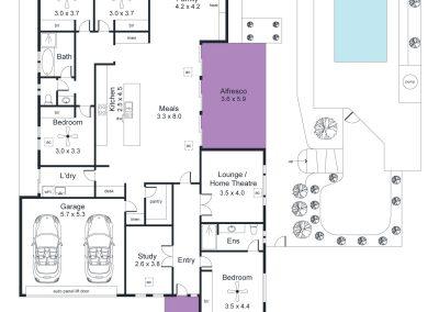 2 Honeysuckle Way, Mount Barker - Floorplan