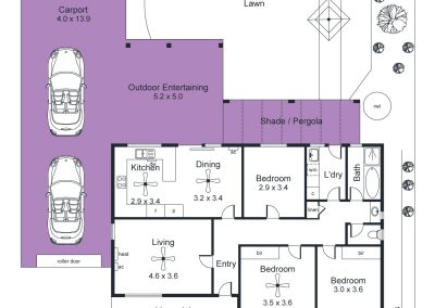 2 Tern Place, Semaphore Park - Floorplan