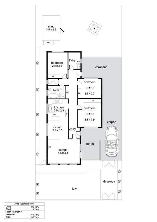 28 Rosetta Street, Glanville - Floorplan