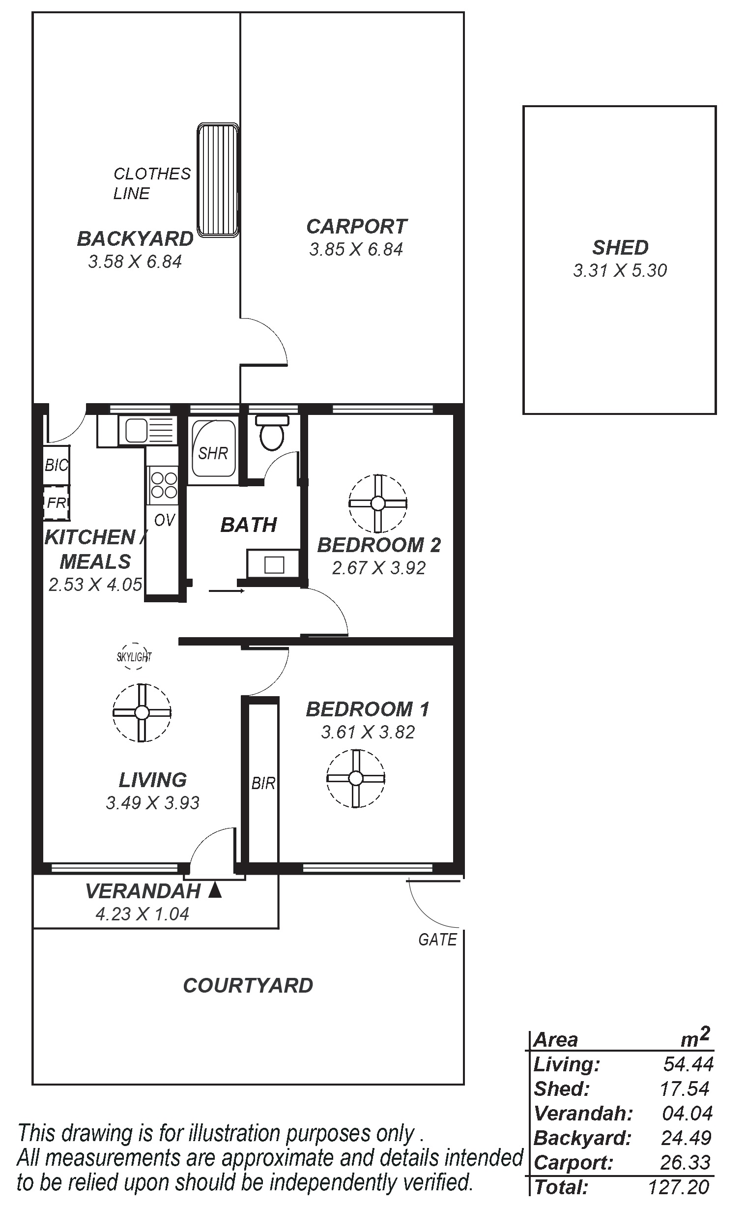 2_4 Albany Street, Grange - Floorplan R2