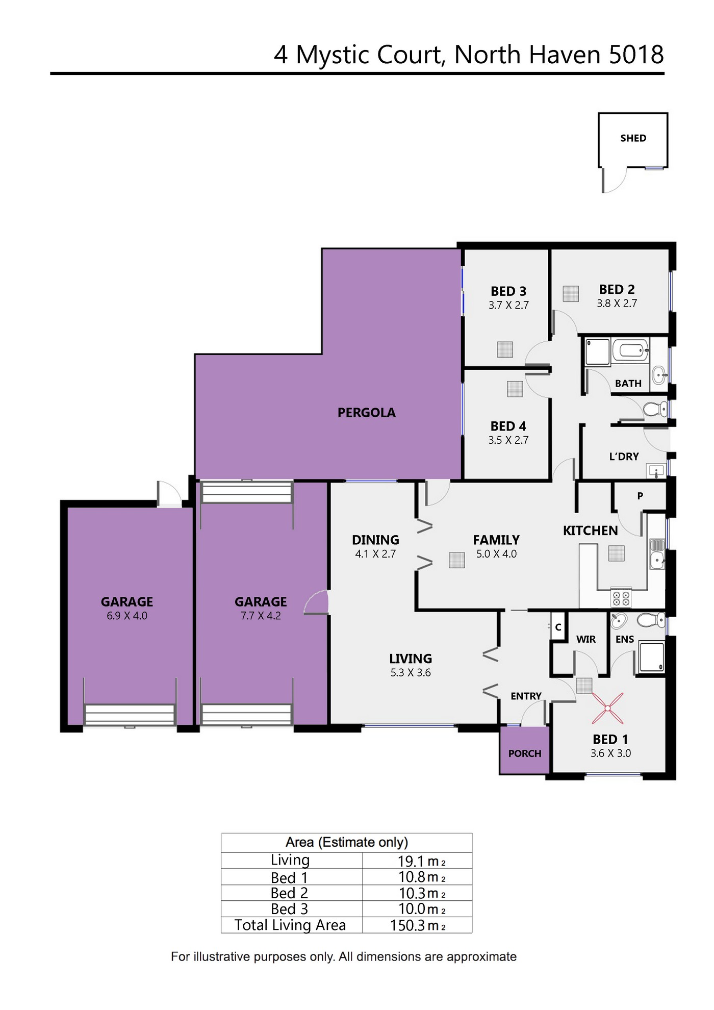4 Mystic Court, North Haven - Floor Plan
