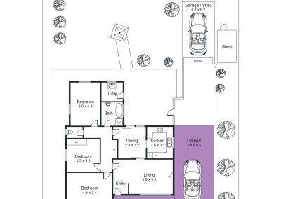 41 St Andrews Terrace, Novar Gardens - Floorplan