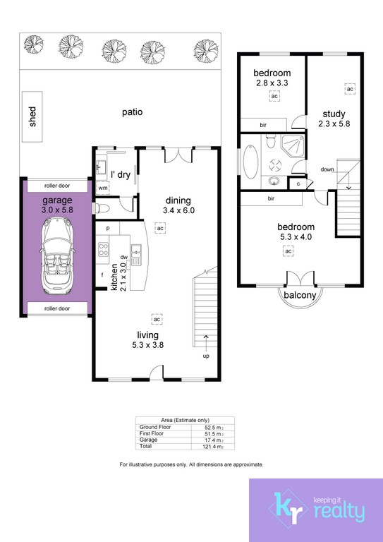 8-4 Cowell Place, Mile End - Floorplan