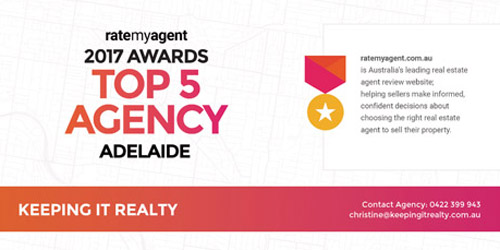 RateMyAgent Top 5 Agency Adelaide