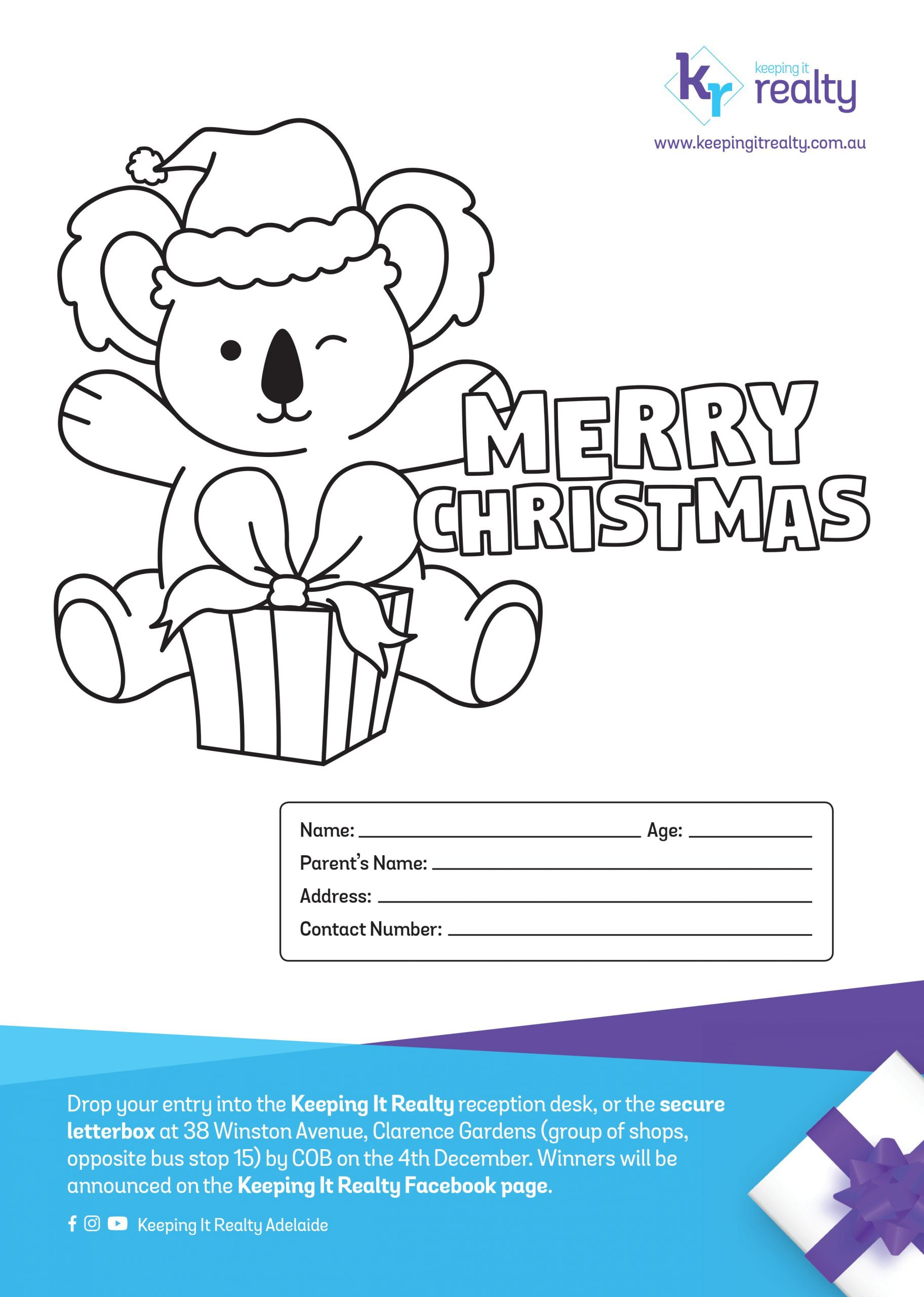 Christmas Colouring Competition 2020
