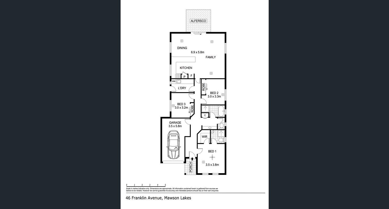 46 Franklin Avenue, Mawson Lakes - Floorplan